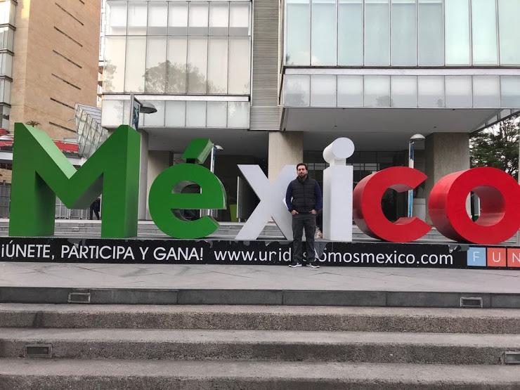 Me in Polanco, Mexico City