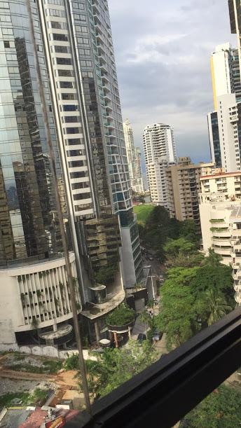 Panama City shot from the Patilla Hotel